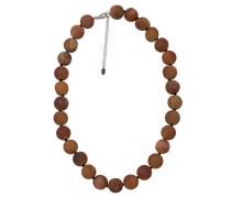 Collier mit Achat-Perlen,