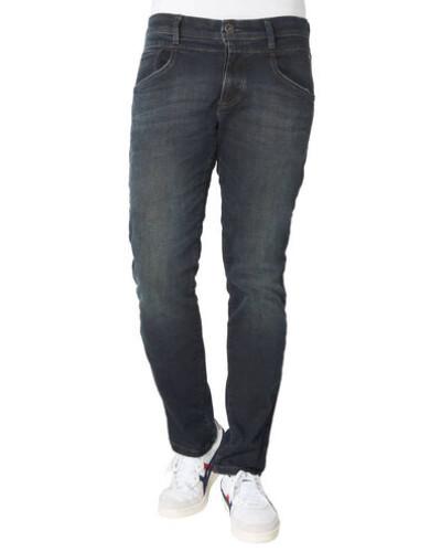 Jeans, Tapered Fit, dark blue, W36/L32