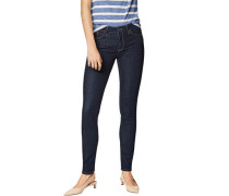 Adriana Jeans, Skinny, mittlere Leibhöhe, dezente Waschung,
