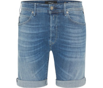 Shorts, Tapered Fit, Waschung,