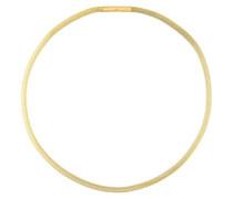 Strickkette 4 mm, Edelstahl Gelb beschichtet