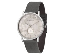 """Armbanduhr """"Frida Silber/Weißbirke Asphalt"""""""