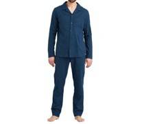 Pyjama, Warming Nightwear, Nadelstreifen,