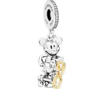 "Charm Disney Micky 90th Anniversary ""797497CZ"", 925er"