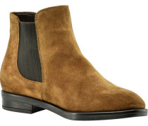 Stiefelette, Chelsea Boots, Rauleder, Plateau,