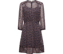 Kleid, All-Over Print,