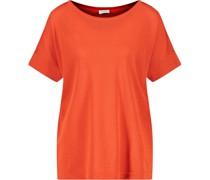 T-Shirt, Rundhalsausschnitt, uni,