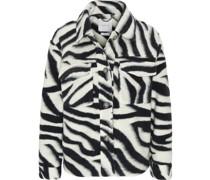 Jacke, Animal-Print, Kent-Kragen, Brusttaschen,