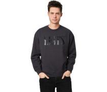 Sweatshirt. Rundhals, Front-Print,