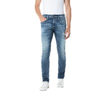 Jeans, Used Look, Waschung,