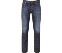 Jeans, Regular Slim Fit, Waschung,