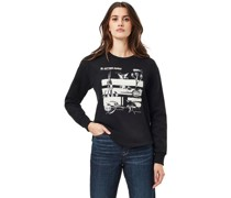Sweatshirt, Rundhals-Ausschnitt, Print,
