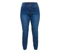 Jeans, Slim Fit, 7/8-Länge, große Größen,