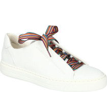 Sneakereder, bunte Schnürung, High Soft Sohle,