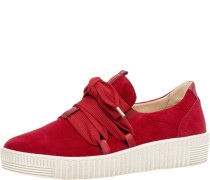 Sneaker, Rauleder, Schnürung,