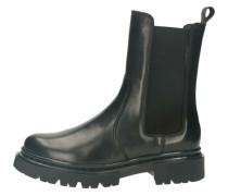 Chelsea Boots, Glattleder, grobes Profil,