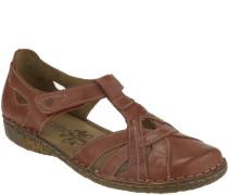 Sandalen, sportlicheder, durchgehende Sohle, Klettverschluss,