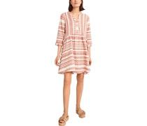 Kleid, kurzer Schnitt, 3/4-Arm,