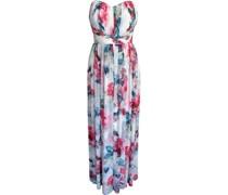 Maxi Kleid, floral, ärmellos,