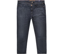 "Jeans ""Houston"", Straight Fit, subtiler Vintage-Look,"