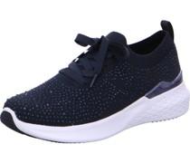 "Sneaker ""Maya"", Rippbund, Strass,"
