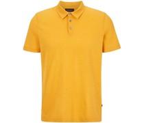 Poloshirt, Kurzarm, Streifenabel-Badge,