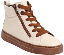 Sneaker, Reißverschlusseder,