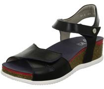 Sandaletten, Keilabsatzogo-Applikation,