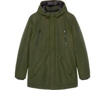 Outdoor-Jacke, wasserabweisend, Daunen, besonders wärmend,