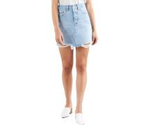 Jeansrock, Used-Look, 5-Pocket,