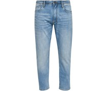 Jeans, Slim Fit, 5-Pockets, Waschung,