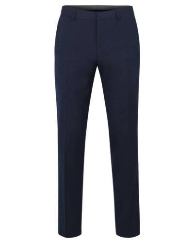 Hose als Anzug-Baukasten-Artikel, Regular Fit, unifarben