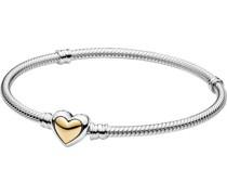 "Armband ""599380C00"", 925er /585er Gelbgold"