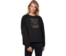 """Sweatshirt """"Graphic Text Relaxed"""", Rundhals, Print,"""