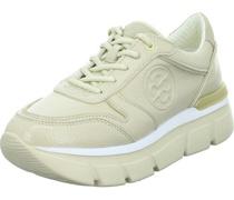 Sneaker Low, gepolstert, Ziernähteogoprägung,