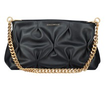 Ophelie smooth leather crossbody bag