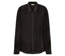 Extravagant textured shirt