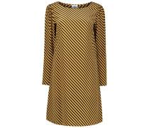 Striped mini shift dress