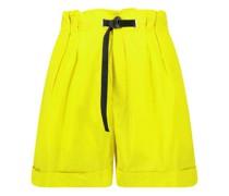 Minimal detailing paperbag shorts