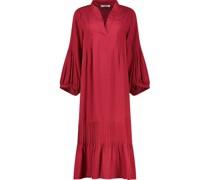 Wide sleeve midi shift dress