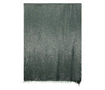 Wool-blend shimmer scarf