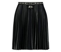 High waisted accordion pleat skirt