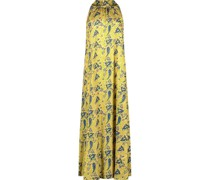 Maxi-Kleid aus Seide