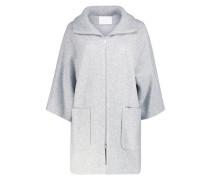 Weaved longline jacket