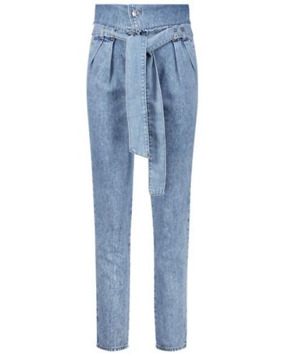 Snappy light jeans