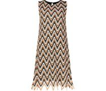 Irregular hem shift dress
