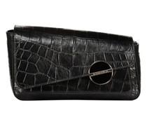 Small  black textured shoulder bag