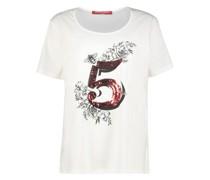Short sleeve sequin detail t-shirt