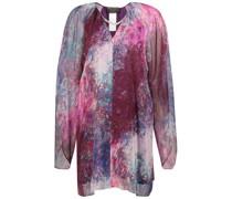 Color splash print tunic