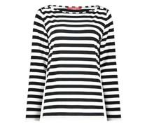 Monochrome striped blouse